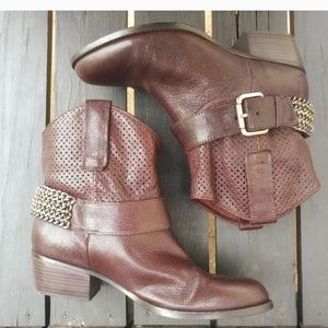 BCBG Chained Short Boot